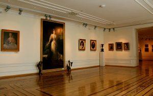 Paintings in Art Museum