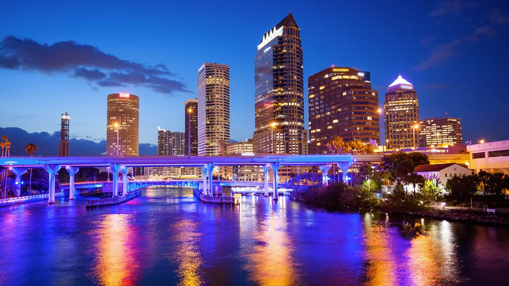 Night Time Tampa