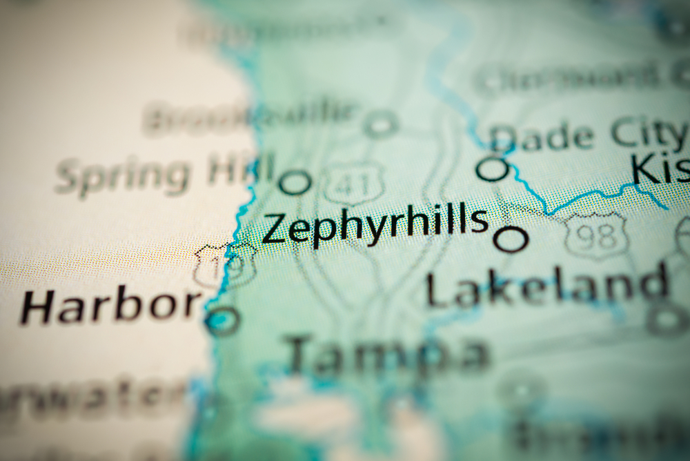 Zephryhills map