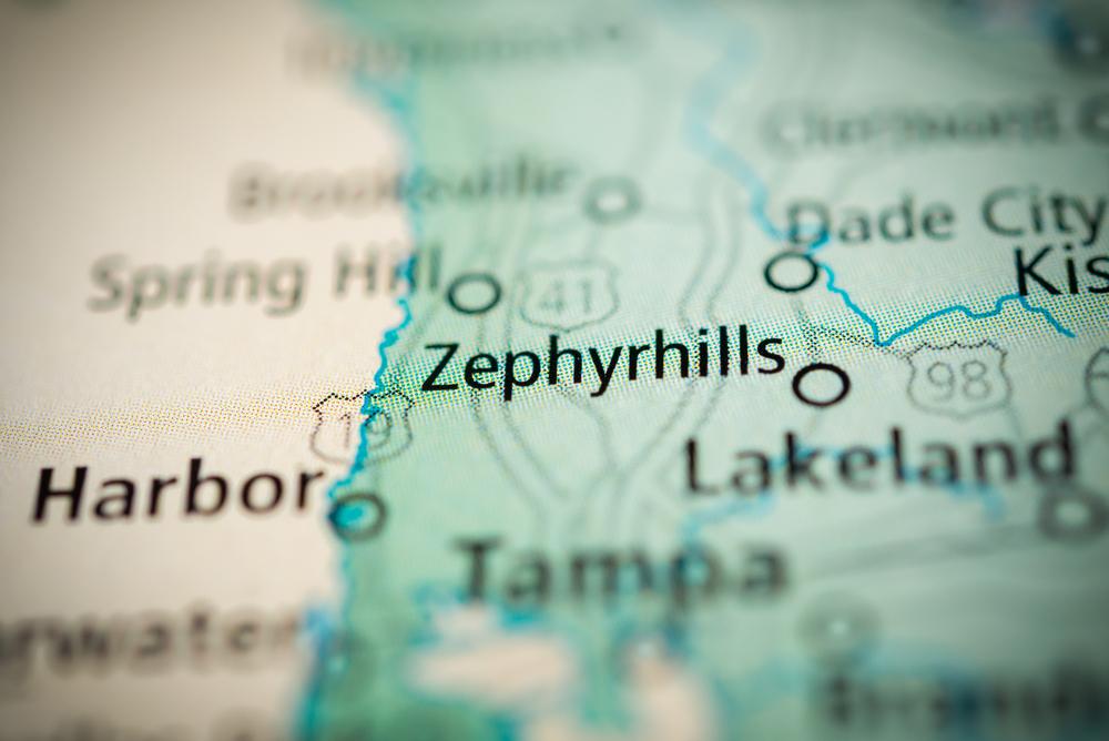 Zephryhills map