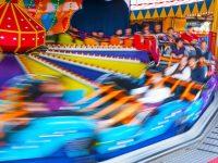 fast carnival ride