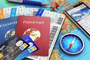 businesss travel and tourism cards