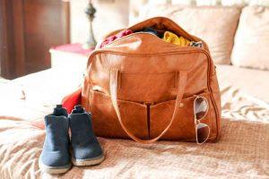 light weekend trip bag