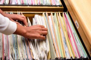 easy to navigate filing system