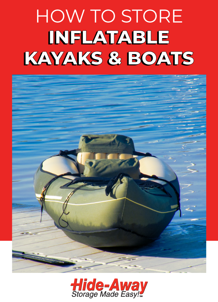 How To Store an Inflatable Boat or Kayak