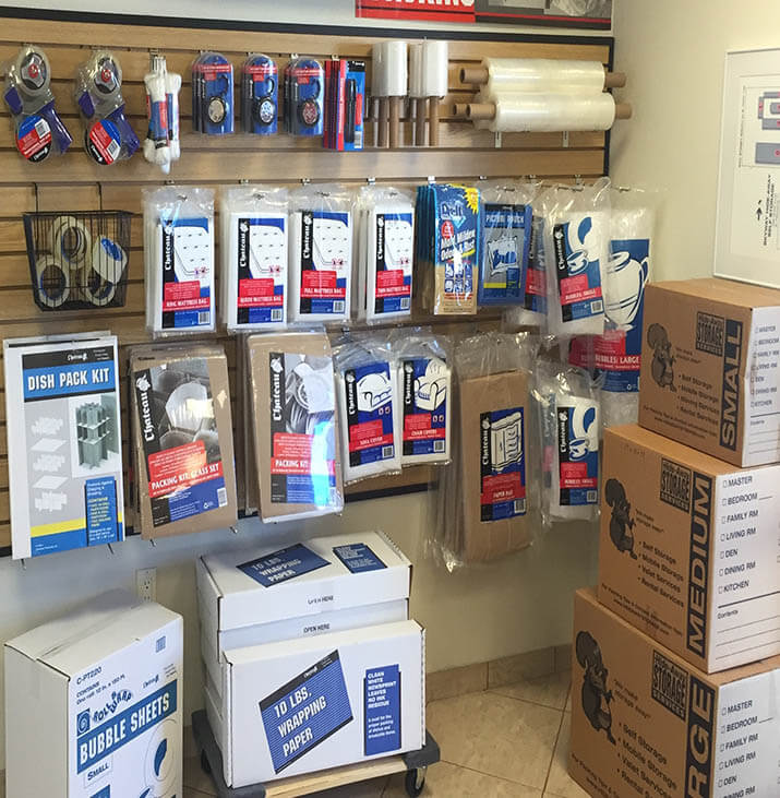 Hide Away Storage Saint Pete Packing Supplies