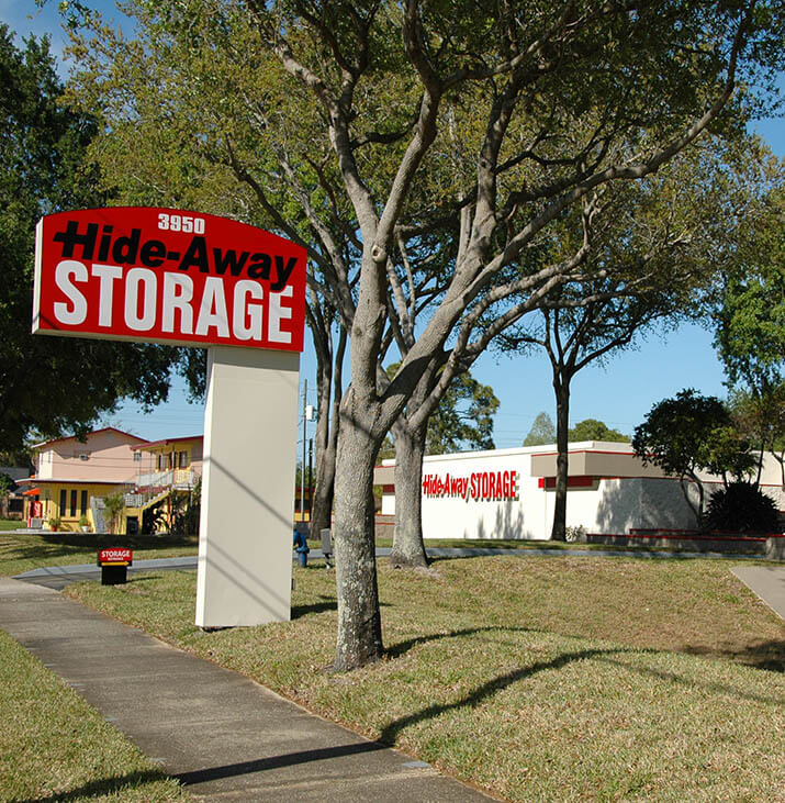 Hide Away Storage Saint Pete Self Storage Facility