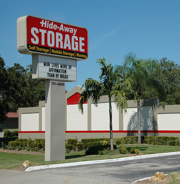 Hide Away Central Self Storage Facility