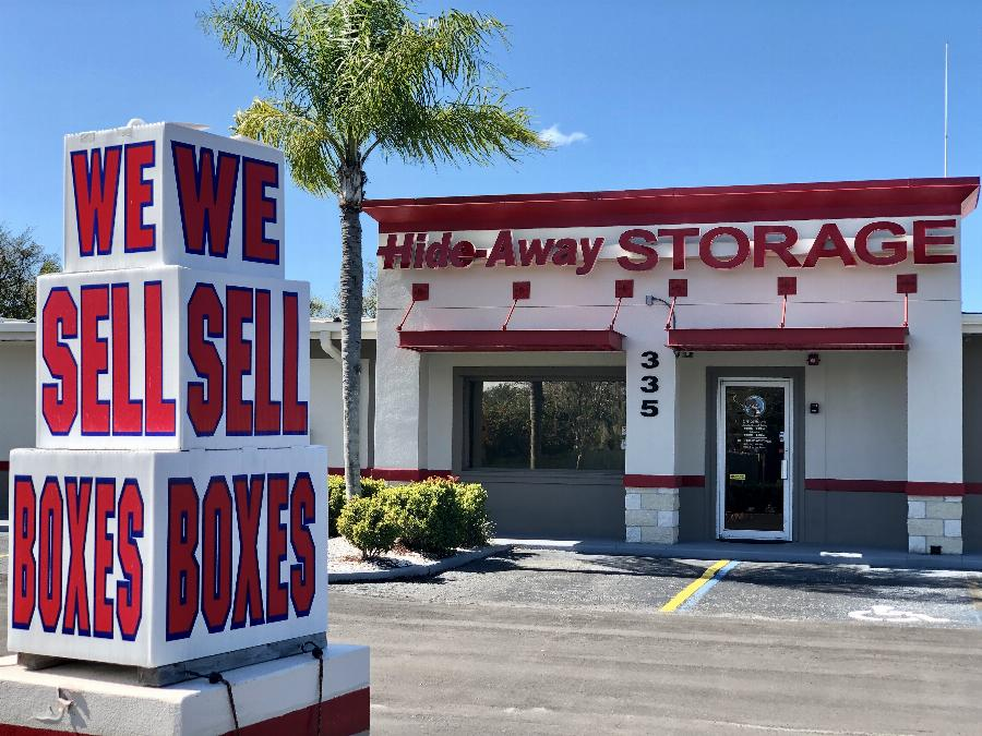 Storage Units in Sarasota, FL on Beneva Road   Hide-Away ...